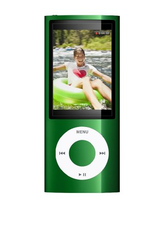 Apple iPod nano 16 GB Green (5th Generation) (In Plain White Box) (Discontinued by Manufacturer)