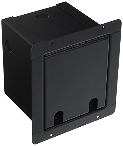 (Pro Co Sound PM6P Recessed Floor Box, 6) Connector Holes Punched)