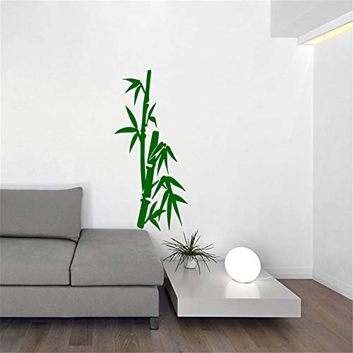 Removable Wall Decals Inspirational Vinyl Wall Art Bamboo in Stem for Living Room Bedroom