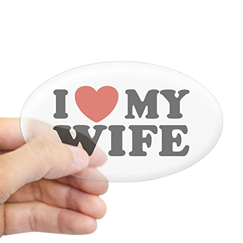 i love my husband bumper sticker - 9