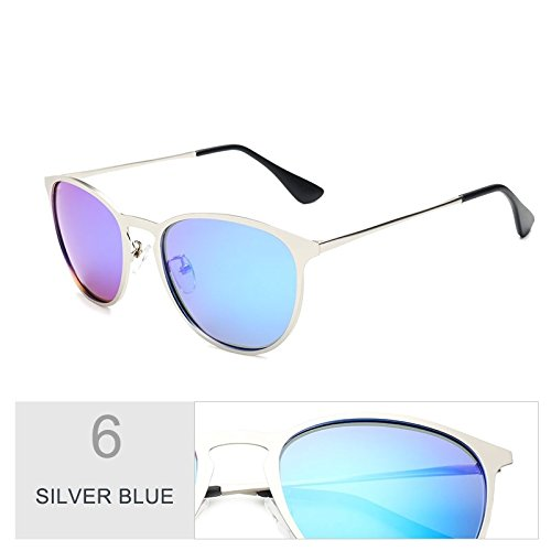De Gafas Guía Silver De Hombres Guay Blue Sol Vestidos En De Aleación Coloridos Plata Moda Bastante Sol Gafas Azul Polarizadas De Gafas TIANLIANG04 1TEw7aqq