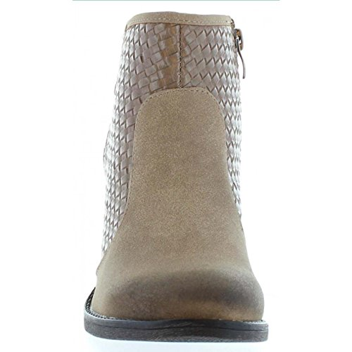 Botines de Mujer MTNG 53744 FIFTY TAUPE