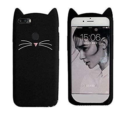 low priced d4157 aa2fc Aarnik 3D Cat Soft Silicon Back Cover for Honor 9 Lite: Amazon.in ...