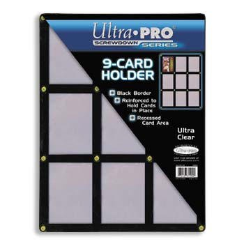 9 Card Screwdown Holder - 2