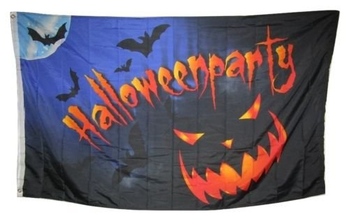 Moon Knives 3x5 Happy Halloween Party Jack O Lantern Shadow Rough Tex Knitted Flag 3x5 - Party Decorations Supplies For Parades - Prime Outside, Garden, Men Cave Decor -