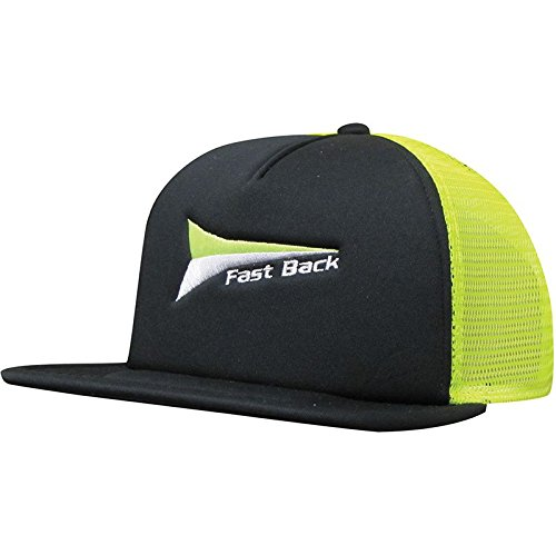 Fast Back Rope Mfg Co Mens Fastback and Green Cap OS Black