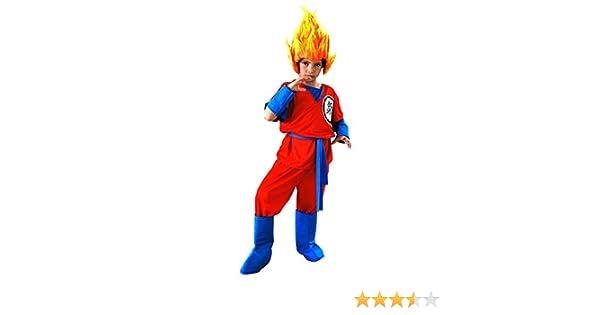 El Carnaval Disfraz Son Goku de 6 a 8 años