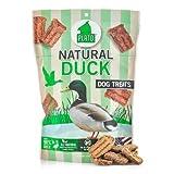 Plato Natural Dog Treats - Duck Strips 16oz (3 Pack)