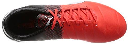 Puma Evopower 3.3 Tricks Ag, Botas de Fútbol para Hombre Rojo - Rot (Red blast-puma white-puma Black 03)