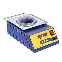 Wotefusi New Industrial 220V 400W Lead-free Solder Pot/Solder Machine Soldering Melting Tin Cans