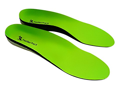 Plantar Fasciitis Insoles, Orthotic Insoles, Relief from Heel and Foot Pain, FootSpa Pro Supports the arch and Heel, Provides Extreme Comfort, Suitable For Most Foot Related Conditions