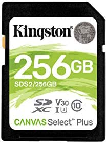 Kingston 256GB Microsoft RM-1109 MicroSDXC Canvas Select Plus Card Verified by SanFlash. 100MBs Works with Kingston