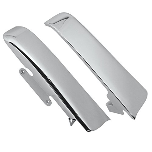 Hill Country Customs Chrome Fender-Saddlebag Filler Panels for 2014 and newer Harley-Davidson Touring models - HC-26316 ()