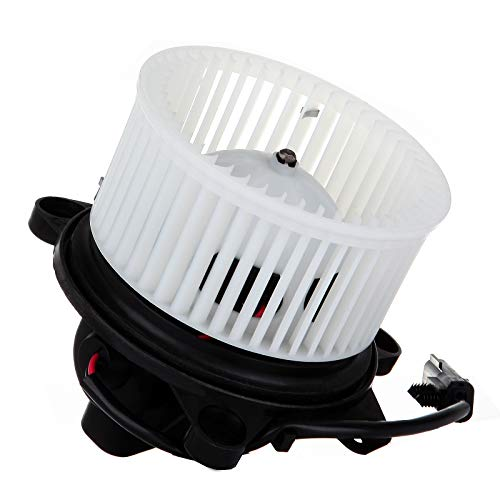 cciyu HVAC Heater Blower Motor with Wheel Fan Cage 4885669AC Air Conditioning AC Blower Motor fit for 2001-2004 Dodge Dakota /2001-2003 Dodge Durango