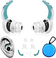 besmonon Waterproof Silicone Swim Earplug|Sports Reusable Ear Plugs Swimming for Adults Kids|Waterproof Earplu