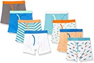 Amazon Essentials Boys Cotton Boxer Briefs Underwear