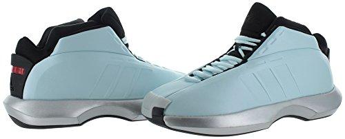 adidas Performance Herren Crazy 1 Basketballschuh Dampf Blau / Metallic Silber / Schwarz