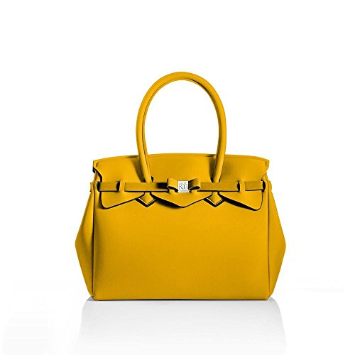 MY mm Giallo BAG Lycra TU 340x290x180 Miss LY SAVE Donna 10204N 6qdxH6