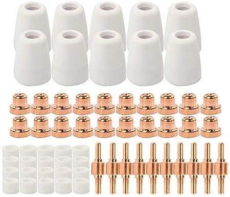 100pcs PT31 LG40 CUT40 CUT50 CT312 Plasma Torch Consumable Electrode Tip