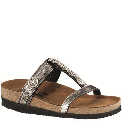Naot Footwear Women's Malibu Sandal Metal Lthr 8 M US ()