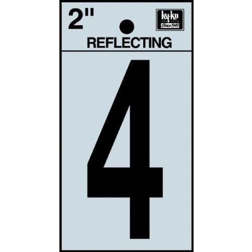 """2"""" BLK Refl Number 4"""