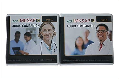 Amazon com: MKSAP 17 Audio Companion + Q & A Bundle