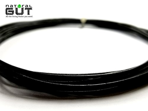 17G VERSION 4 POLY RESIN COATED N.G.W. NATURAL GUT TENNIS RACQUET STRING