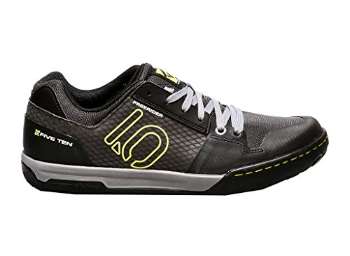 Five Ten Freerider Contact Men's MTB Shoes (Black/Lime, 11.5)