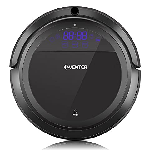 Robins Robot Vacuum Cleaner with Intelligent Technology, Powerful Suction, Mutifunction Sweeper for Pet Hair and House Cleaning, Apply in Thin Carpet and Hard - Bagless Upright Round Hepa Filter