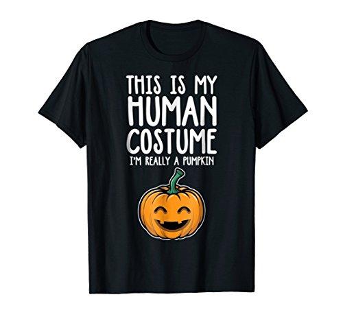 I'm A Pumpkin Lover Funny Group Halloween Costume T-shirt ()