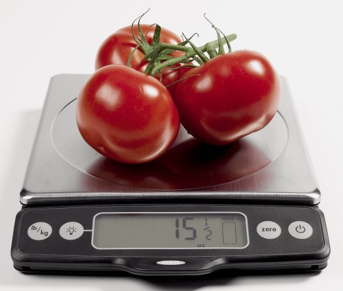 OXO Good Grips Stainless Steel Food Scale with Pull-Out Display, 11-Pound NEWER VERSION AVAILABLE by OXO (Image #8)