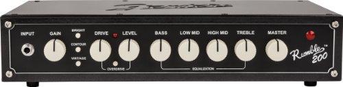 100%正規品 Fender Rumble 200 Fender v3 [並行輸入品] Bass B07FDS3M7V Head Amplifier [並行輸入品] B07FDS3M7V, ヤマノベマチ:973af2e7 --- arianechie.dominiotemporario.com
