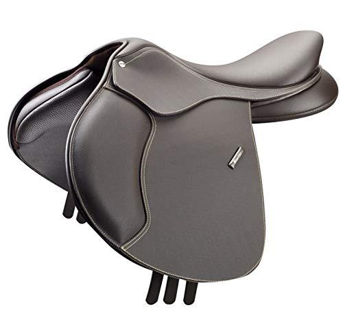 (Wintec 500 Close Contact Saddle CAIR 17.5 Brown)