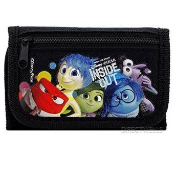 Wallet - Disney - Inside Out Black Trifold New 0812033-black FAB Starpoint 812033PLM