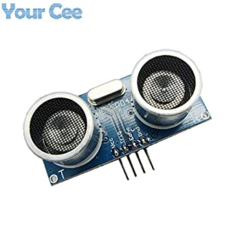 Fevas HC-SR04 Ultrasonic Module Distance Measuring Transducer Sensor Detector Ranging Module DC 5V: Amazon.com: Industrial & Scientific