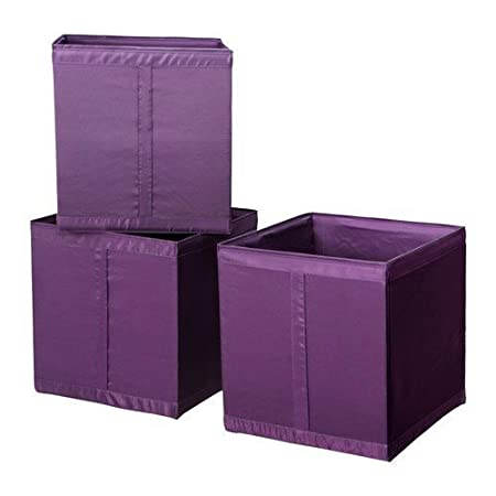 ikea set of 3 three shelves shelf skubb storage boxes shelf inserts rh amazon co uk DIY Shelves DIY Shelves