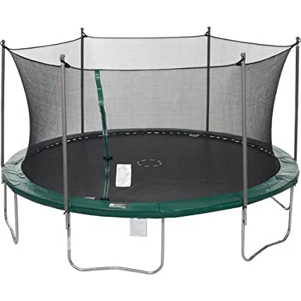 Amazon Sportspower 15 Feet Trampoline With Enclosure Sports