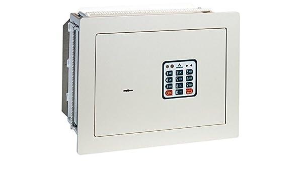 Arregui - Caja fuerte electrónica de empotrar beige claro: Amazon ...