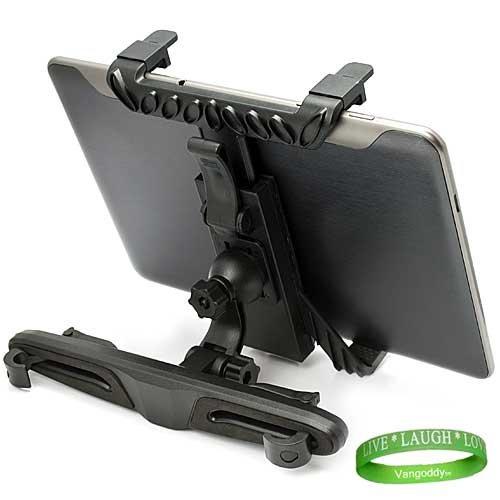 PC Tablet Computer Car Headrest Mount for All Models of the Samsung Galaxy TAB (Newest (Samsung Galaxy Tab4 Car Mount)