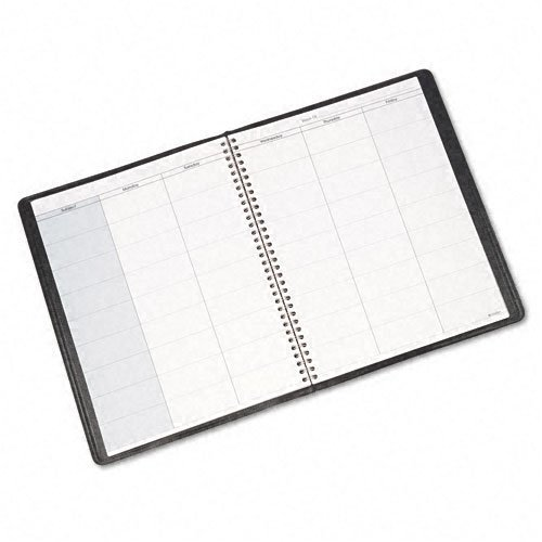 AT-A-GLANCE : Undated Teachers Planner 10-7/8 x 8-1/4, Black -:- Sold as 2 Packs of - 1 - / - Total of 2 Each