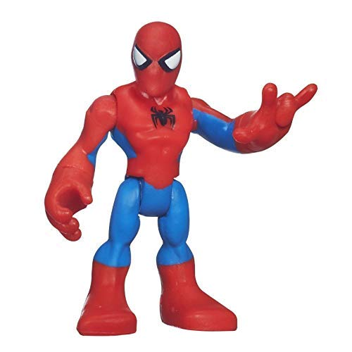 - Marvel Playskool Super Hero Adventures Mini Figure Spider-Man [NO WEBS, Bagged]
