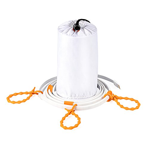 Kohree Portable LED Rope Lights Lantern Strip String Linear Lights 5ft for Camping, Hiking, Safety, Emergency, TV Computer Back Lighting Warm Bright