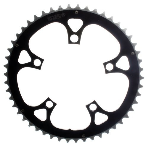 Origin8 Alloy Ramped Chainrings, 94mm x 46t, Black/Silver 94 Mm Alloy Ring