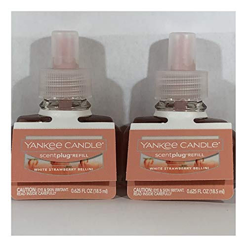(Yankee Candle White Strawberry Bellini ScentPlug Refills 2-Pack)