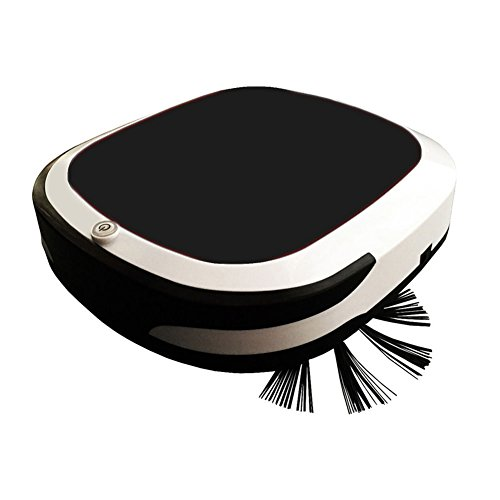 Price comparison product image WDJZ Automatic Cleaning Robot Intelligent Sweeping Robot Rechargeable 300PA Automatic Household Floor Cleaner Dust Electric Vacuum Cleaner Black