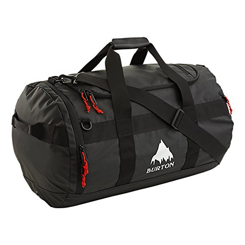Burton Backhill Medium/70 L Duffel Bag, True Black Tarp, One Size by Burton