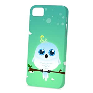 Case Fun Apple iPhone 5 / 5S Case - Vogue Version - 3D Full Wrap - White Cockatoo by DevilleART