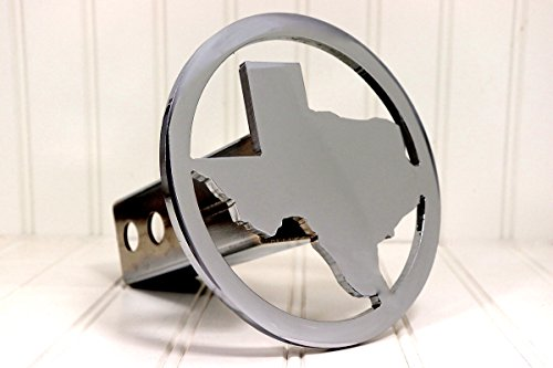 Chrome 2″ Circle Texas Hitch Cover