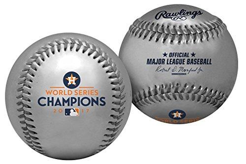 2017 Houston Astros Rawlings Ltd Edition 500 World Series Silver Champions MLB Baseball