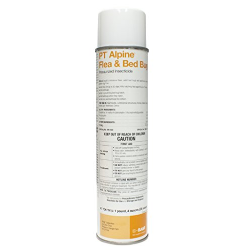 Home Bed Bugs Treatment (PT Alpine Flea & Bed Bug Pressurized Insecticide - 20 oz.)